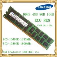 675.73 руб. 35% СКИДКА|Samsung DDR3 4 ГБ 8 ГБ оперативной памяти, 16 Гб встроенной памяти сервера 1333 1600 МГц ECC REG DDR3 PC3 10600R 12800R RIMM Оперативная память X58 X79 использование материнской платы-in ОЗУ from Компьютер и офис on Aliexpress.com | Alibaba Group