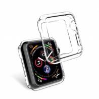 130.13 руб. |Протектор чехол для Apple Watch Series 4 крышки 44 мм 40 мм бампер силиконовые прозрачные ультра тонкие Clear Frame основа для iWatch купить на AliExpress