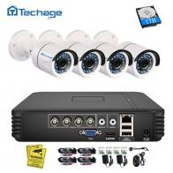 4844.55 руб. 21% СКИДКА|Techage 4CH 1080N AHD DVR 720 P система видеонаблюдения 1.0MP ИК ночного видения комнатная наружная камера Домашняя безопасность комплект видеонаблюдения-in Система наблюдения from Безопасность и защита on Aliexpress.com | Alibaba Group