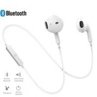 Беспроводные bluetooth-наушники с шумоподавлением, гарнитура с шейным ободком, спортивные стерео наушники с микрофоном для iPhone Xs, samsung 9
