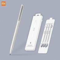 Xiaomi Mijia Pen PREMEC Smooth Metal Switzerland Refill Alloy Handles MiKuni Japan Black Ink 0.5mm Signature Signing Xiaomi-in Smart Remote Control from Consumer Electronics on AliExpress