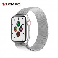 LEMFO Новые смарт часы для мужчин 1,54 дюймов полный сенсорный весь день яркий дисплей монитор сердечного ритма для Apple IOS Android телефон умные часы - Умные часики