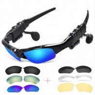 US $4.05 30% OFF|Outdoor Glasses Bluetooth Sunglasses Headphones Stereo Wireless Sport Riding Song Call Ear Buds Earphone for xiomi xiami Sony-in Bluetooth Earphones & Headphones from Consumer Electronics on Aliexpress.com | Alibaba Group