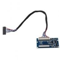 """1 комплект LVDS 20 до 40Pin ttl сигнал ЖК-конвертер плата для 7-10,1 """"кабель для ЖК панели"""