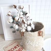 89.59 руб. 21% СКИДКА|Искусственный цветок, натуральный сушеный хлопок, стебли, подстилка, наполнитель, декор с цветами, Свадебная вечеринка, подарок, гостиная, букет-in Искусственные и сухие цветы from Дом и сад on Aliexpress.com | Alibaba Group