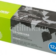 Картридж CACTUS CS-Q2612AS, черный
