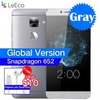 """Глобальная версия LeEco LeTV Le S3 X522 3 ГБ Оперативная память 32 ГБ Встроенная память Восьмиядерный Snapdragon 652 4G LTE мобильный телефон 5,5 """"1080 P 16MP отпечатков пальцев купить на AliExpress"""