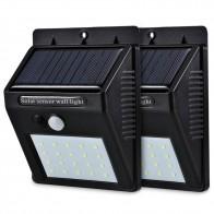 418.13 руб. 45% СКИДКА|Светодиодный светильник на солнечной энергии с датчиком движения PIR, настенный светильник 20, светодиодный, уличный, водонепроницаемый, энергосберегающий, уличный, для дома, сада, для безопасности, лампа-in Светодиодные солнечные лампы from Лампы и освещение on Aliexpress.com | Alibaba Group