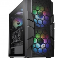 Корпус ATX THERMALTAKE Commander C33 TG,  черный