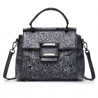 3290.97 руб. 32% СКИДКА|Высококачественная женская сумка с короткими ручками, сумка через плечо с цветочным рисунком из натуральной кожи, винтажная Сумка тоут, сумка мессенджер, сумки на плечо-in Сумки с ручками from Багаж и сумки on Aliexpress.com | Alibaba Group