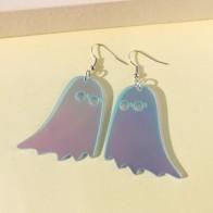 Хэллоуин серьги-подвески с декором призрака
