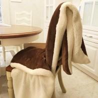 969.83 руб. 20% СКИДКА|Зимнее шерстяное одеяло хорек кашемировое одеяло теплое одеяло s флисовое плед супер теплый мягкий бросок на диван кровать 7A0808 купить на AliExpress