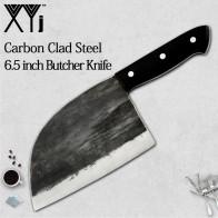 US $22.44 66% OFF|XYj كامل تانغ الشيف سكين الجزار اليدوية مزورة عالية الكربون يرتدون الصلب سكاكين المطبخ الساطور التعصيب التقطيع واسعة سكين-في سكاكين مطبخ من المنزل والحديقة على Aliexpress.com | مجموعة Alibaba