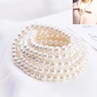 128.82 руб. 58% СКИДКА|SUKI летние женские вечерние длинные с бусинами ожерелье из искусственного жемчуга брелок ожерелье для женщин Kolye Свадебные украшения on Aliexpress.com | Alibaba Group