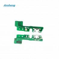 Ansheng зарядка через usb порты и разъёмы доска гибкий кабель соединитель Запчасти для huawei Honor Play 6A сотовый телефон купить на AliExpress