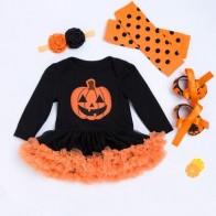 с вышивкой Хэллоуин Детские боди - Хэллоуин для детей