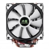 1280.35 руб. 28% СКИДКА|Снеговик 4PIN Процессор кулер 6 тепловым стержнем heat pipe двойные вентиляторы охлаждения 12 см вентилятор LGA775 1151 115x1366 Поддержка процессоров Intel AMD-in Вентиляторы и охлаждение from Компьютер и офис on Aliexpress.com | Alibaba Group