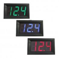 73.29 руб. 31% СКИДКА|DC 4,50 В 30,0 В Цифровой вольтметр дома Применение Напряжение Дисплей 2 провода красный/черный/синий 0,56 дюймов светодио дный купить на AliExpress