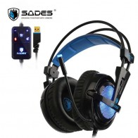 US $35.99 10% OFF|SADES Locust Plus 7.1 Surround Sound Headphones USB Gaming Headset Soft leather Headband-in Headphone/Headset from Consumer Electronics on Aliexpress.com | Alibaba Group