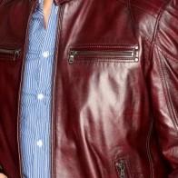 Мужская кожаная куртка Derimod ME-5638087441 - Мужские кожаные куртки