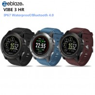 1955.22 руб. |Zeblaze Vibe 3 HR Bluetooth Спорт Waterprof Smart Watch 1,22