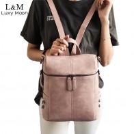 1080.26 руб. 43% СКИДКА|Простой стиль женский кожаный рюкзак рюкзаки для девочек подростков школьные сумки Модные Винтажные однотонные черные сумки на плечо Youth XA568-in Рюкзаки from Багаж и сумки on Aliexpress.com | Alibaba Group