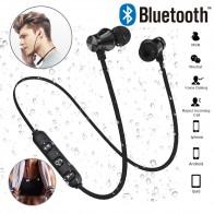 Магнитный аттракцион Bluetooth наушники гарнитура водостойкие спортивные 4,2 с зарядным кабелем молодые наушники Встроенный микрофон купить на AliExpress