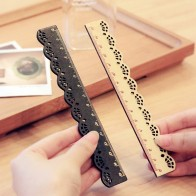US $0.45 20% OFF|1 Pcs Beautiful Stylish Korea Zakka Kawaii Stationery Lace Brown Wood Ruler Sewing Ruler Office School Supplies-in Rulers from Office & School Supplies on Aliexpress.com | Alibaba Group