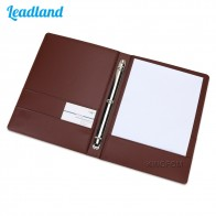 US $17.93 31% OFF|6 Colors 3 Ring Binders A4 PU Leather Files Folder Travel Portfolios Fashion Style Business Office Supplies Folder for Document-in Padfolio from Office & School Supplies on Aliexpress.com | Alibaba Group