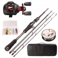 US $59.91 45% OFF|Smart Fishing Set 1.98m Casting Fishing Rod Combo Baitcasting Reel 100m Nylon Line Lure Fishing Box Spoon Bait Fishing Hook Pin-in Rod Combo from Sports & Entertainment on Aliexpress.com | Alibaba Group