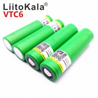 307.36 руб. 26% СКИДКА|Горячая Liitokala VTC6 3,7 в 3000 мАч литий ионный аккумулятор 18650 US18650VTC6 30A электронные сигареты Игрушки Инструменты flashligh купить на AliExpress