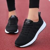 النساء حذاء كاجوال موضة تنفس المشي شبكة الدانتيل يصل حذاء مسطح أحذية رياضية النساء 2019 تنيس Feminino الوردي أسود أبيض