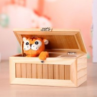 US $40.61 |Funny Toy Upgrade Wooden Electronic Useless Box with Sound Cute Tiger 20 Modes Gift Stress Reduction Desk Decoration-in Gags & Practical Jokes from Toys & Hobbies on Aliexpress.com | Alibaba Group