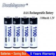 US $9.82 22% OFF|4pcs/Lot AAA Battery 1100mAh 1.2V Ni MH Rechargeable Battery in Actual High Capacity of 1100mAh aaa Rechargerable Battery Cell-in Replacement Batteries from Consumer Electronics on Aliexpress.com | Alibaba Group