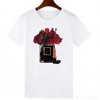 223.57руб. 15% СКИДКА|Повседневная Женская белая футболка с круглым вырезом больших S 2XL в стиле Vogue для женщин, Harajuku, топ с коротким рукавом, футболки, подарок для девушки, WTQ 1910-in Футболки from Женская одежда on AliExpress - 11.11_Double 11_Singles