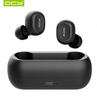 US $15.98 80% OFF|QCY qs1 TWS 5.0 Bluetooth headphone 3D stereo wireless earphone with dual microphone-in Bluetooth Earphones & Headphones from Consumer Electronics on AliExpress
