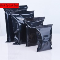 US $2.78 |100pcs/lot Black Color Self Sealing Plastic Bags,ziplock poly bags zipper bags zip lock storage bags free shipping-in Storage Bags from Home & Garden on Aliexpress.com | Alibaba Group