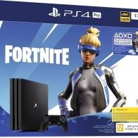 PlayStation 4 Pro 1Тб в комплекте с игрой Fortnite (черный)