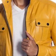 Мужская кожаная куртка Vivamood ME-7089-S-4 - Мужские кожаные куртки