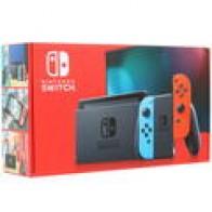 Купить Игровая приставка Nintendo Switch 32 GB Neon Red/Blue в интернет магазине DNS. Характеристики, цена Nintendo Switch 32 GB Neon Red/Blue | 1391816
