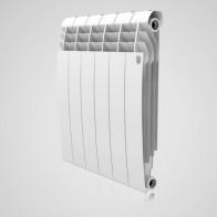 Купить Радиатор биметалл RT BiLiner 500/87/6 секц Bianco Traffico(белый) в Ульяновске