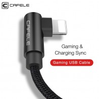 US $3.99 20% OFF|Cafele 150cm Gaming USB Cable for iPhone X Xr Xs Max 8 7 6s Plus Charging and Gaming Sync USB Cable Nylon Weaving USB Cable-in Mobile Phone Cables from Cellphones & Telecommunications on Aliexpress.com | Alibaba Group