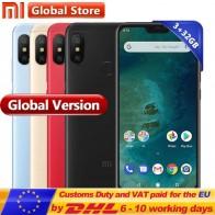 8480.19 руб. |Глобальная версия Xiaomi A2 Lite телефон 3 ГБ 32 ГБ Snapdragon 625 Octa Core Smartphoe 5,84