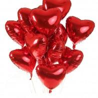 """Доставка цветовРоссияМоскваБукет шаров """"Вечная любовь"""" (11 или 21 шар) - Цветы и Шары"""