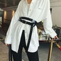 825.53 руб. 21% СКИДКА|Модный пояс в европейском и американском стиле, широкий черный пояс, рубашка, пояс на талию-in Женские ремни from Аксессуары для одежды on Aliexpress.com | Alibaba Group