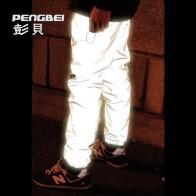 1020.9 руб. |2018 г. мужские с бархатом Штаны 3 м светоотражающие мода ноги рот высокое качество Светоотражающие Брюки купить на AliExpress