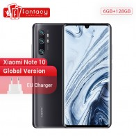 US $428.0 20% OFF|Global Version Xiaomi Mi Note 10 6GB RAM 128GB ROM 108MP Penta Camera Snapdragon 730G Octa core Cellphone 6.47