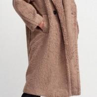 Женское пальто Dilvin ME-101A06824_Vizon - Пальто пастельных тонов
