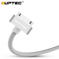 US $1.3 42% OFF|SUPTEC USB Cable for iPhone 4 s 4s 3GS iPad 2 3 iPod Nano touch Fast Charging 30 Pin Original Charge adapter Charger Data Cable-in Mobile Phone Cables from Cellphones & Telecommunications on Aliexpress.com | Alibaba Group