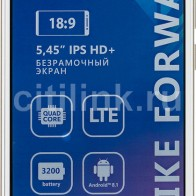 Смартфон BQ Strike Forward 16Gb,  5512L,  золотистый